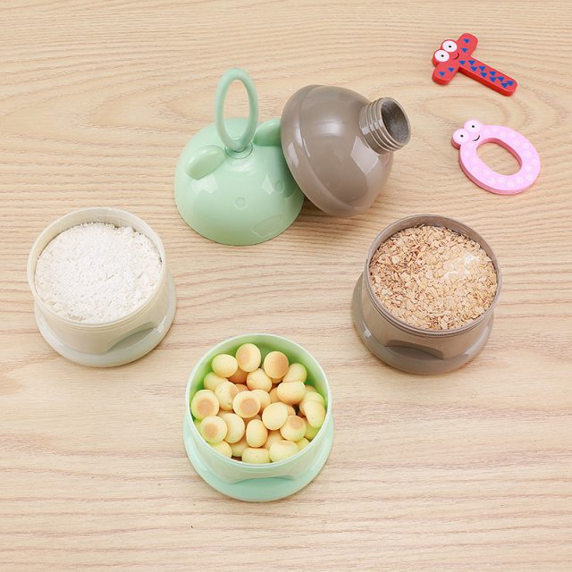 Frog Style Portable Baby's Food Containers