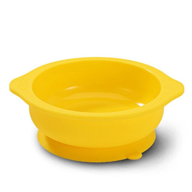 Useful Durable Silicone Baby Feeding Bowl