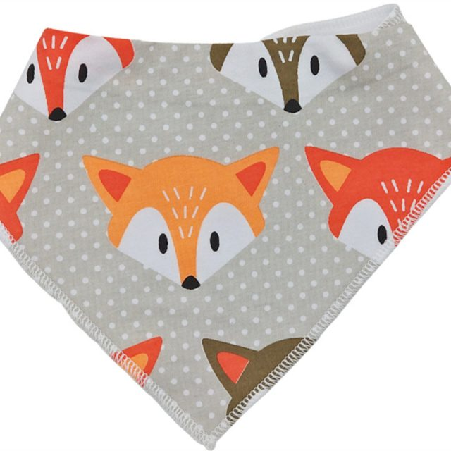 Animals Printed Bibs for Babies