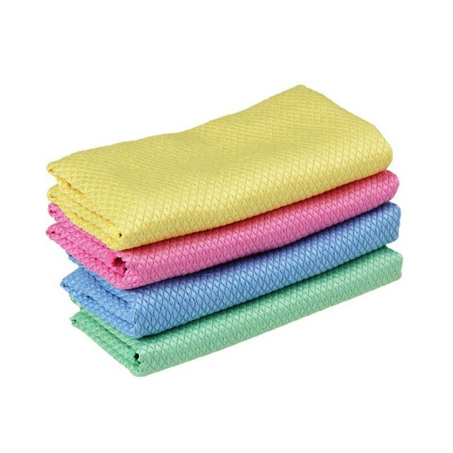 Absorbent Microfiber Cleaning Towels Set