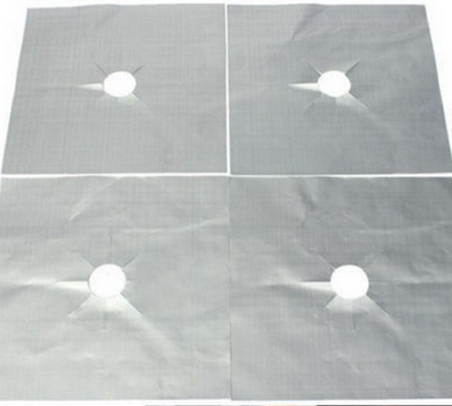 4 Pieces of Gas Stove Protectors