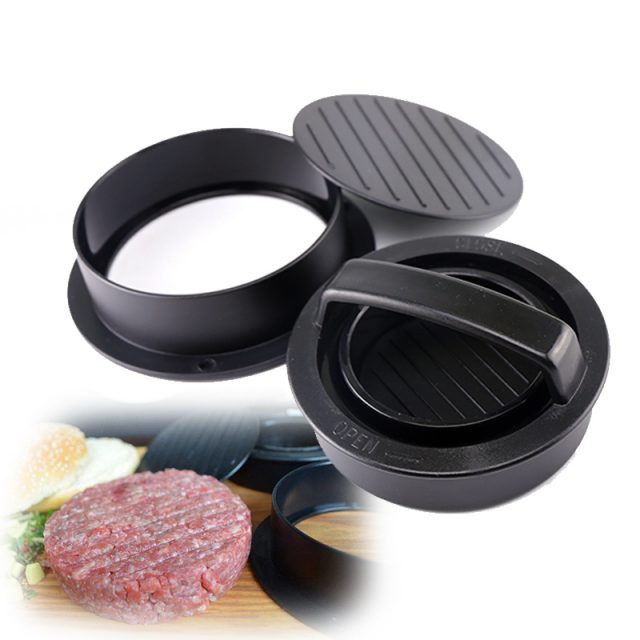 Eco-Friendly Non-Stick ABS Burger Maker