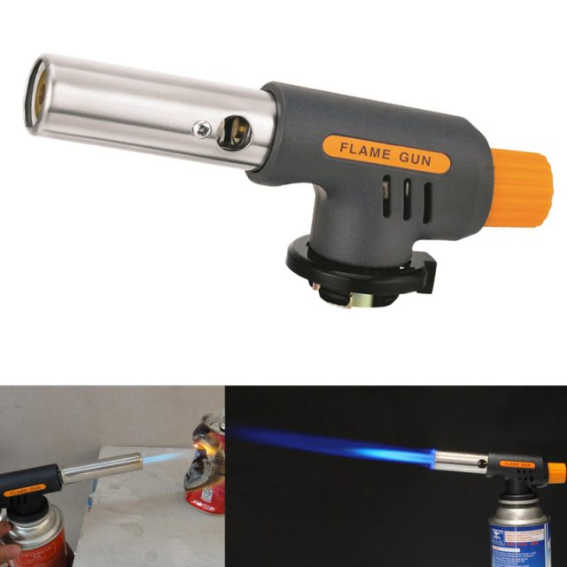 Heat Resistance Metal Barbecue Gas Flame Guns