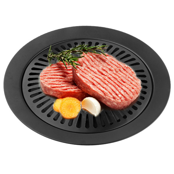 Smokeless Iron Gas Stove Plate For Barbecue