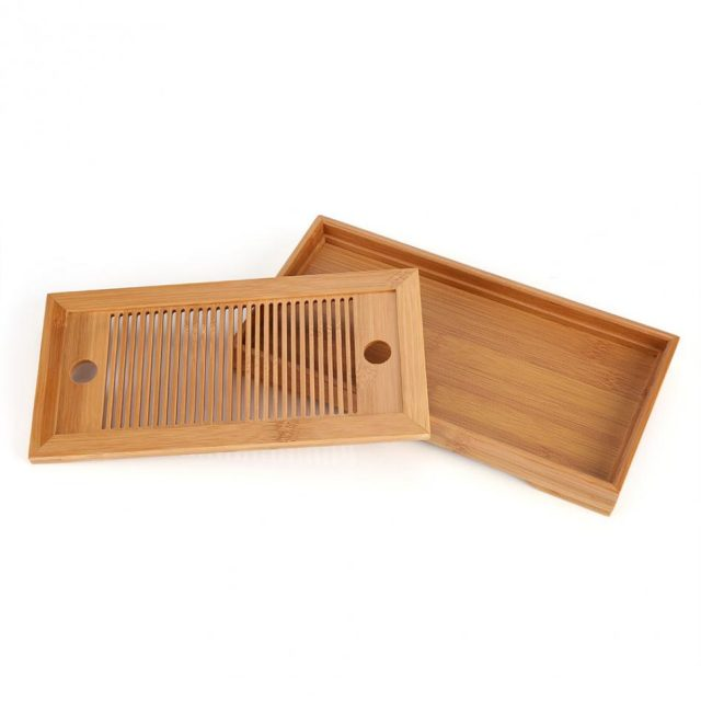 Bamboo Trays for Tea Serving