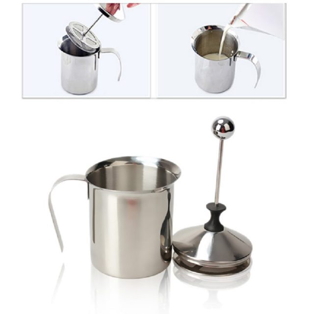 800 Ml Stainless Steel Milk Frother