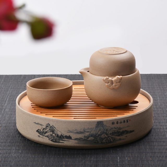 Traditional Chinese Ceramic Tea Set