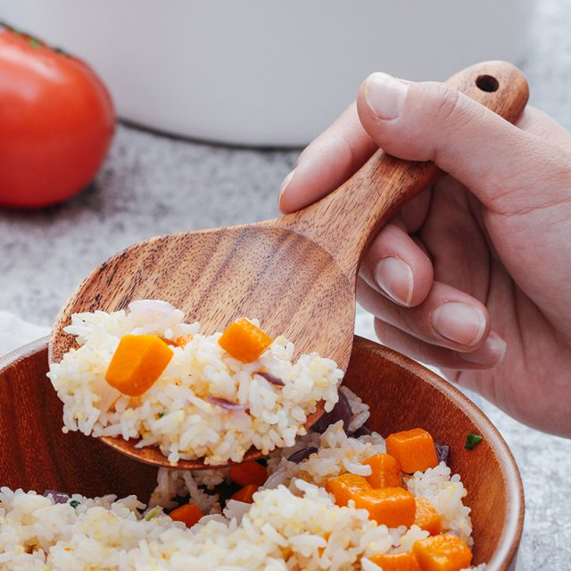 Wooden Rice Spoon