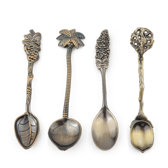Vintage Style Coffee Spoons